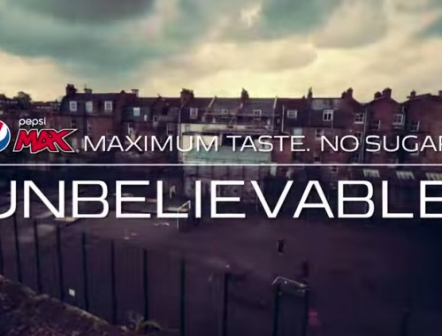 The Unbelievable Game - Pepsi Max. Unbelievable #LiveForNow